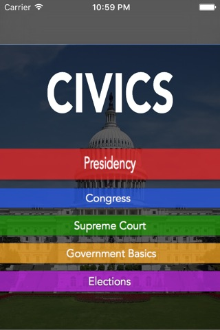 Civics 101 screenshot 1