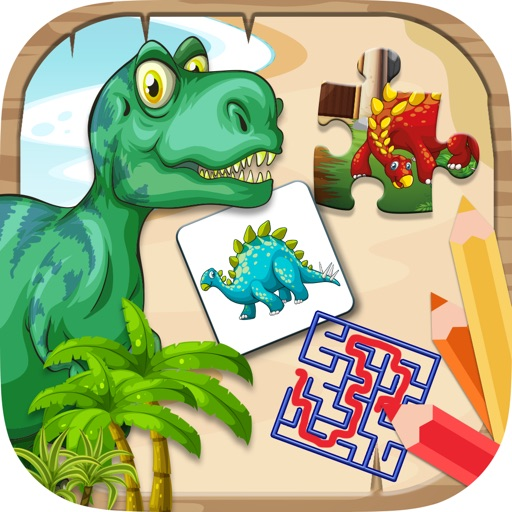 Dino mini games to play iOS App