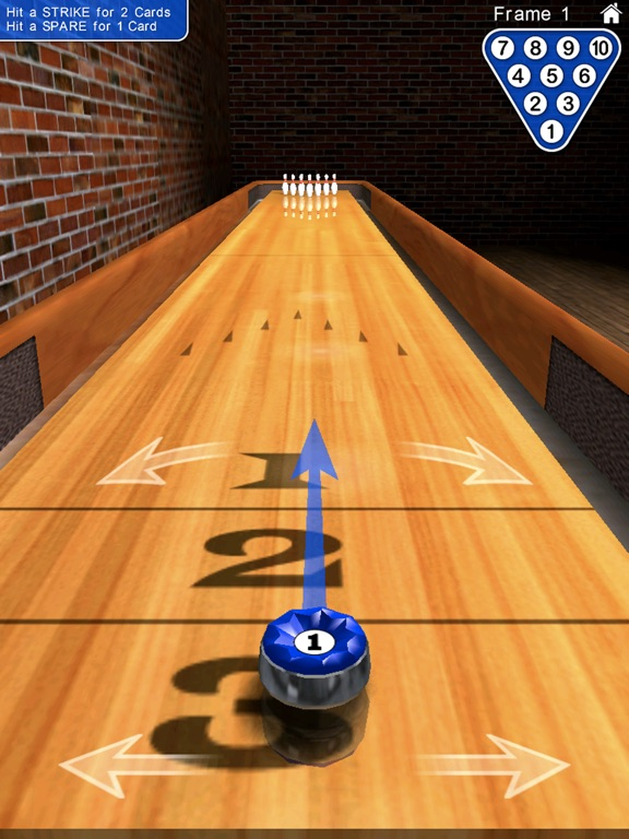Screenshot #3 for 10 Pin Shuffle for iPad