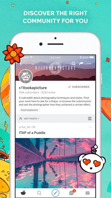 Screenshot 3 for Reddit's iPhone app'