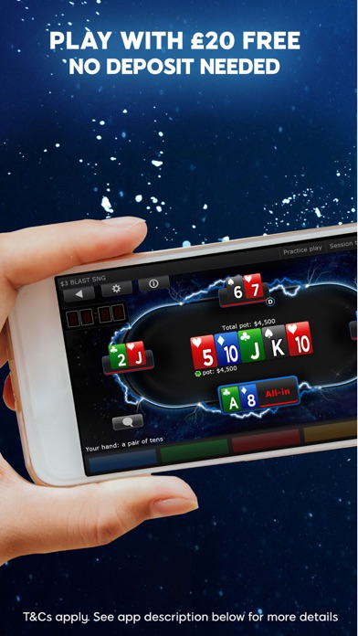 Poker for money on iphone