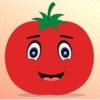 情感的番茄GIF,貼紙