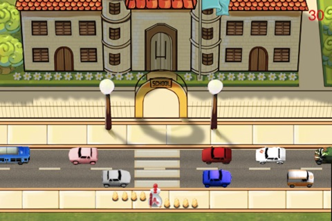 Chicken Cross Road screenshot 1