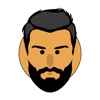 Juergen Reichenbaecher - Emojis Beard Sticker artwork