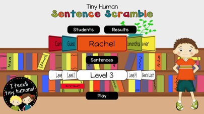 Tiny Human Sentence Scramble screenshot 2