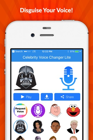 Voice Changer -Celebrity Emoji screenshot 3