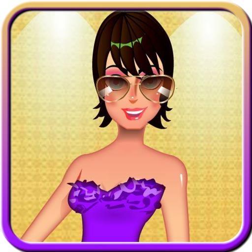 Glamours Model Dress Up