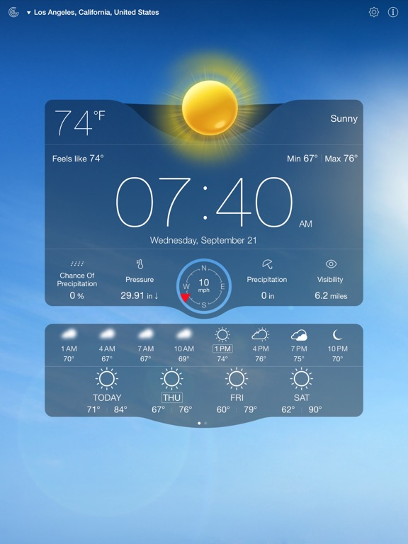 Weather Live On The App Store - Us live weather map