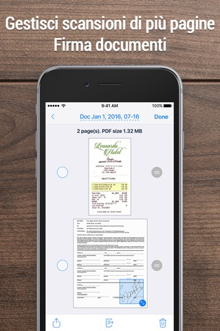 iScanner - PDF Scanner App. screenshot 4