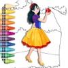Principessa Coloring Book gioc