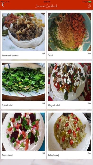 Jomana's Cookbook App Screenshot 3
