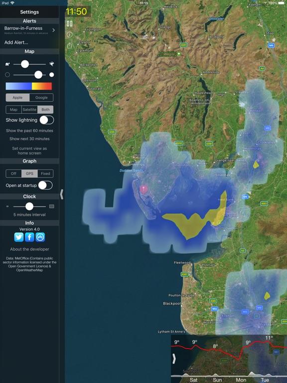 Rain Alerts Screenshots