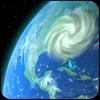 Mapa del viento: 3D Hurricanes