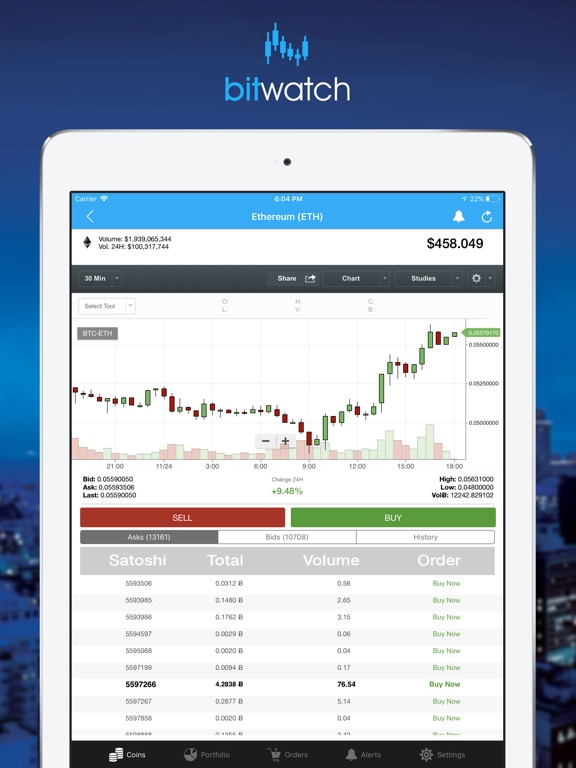 BitWatch - Trading Coins screenshot