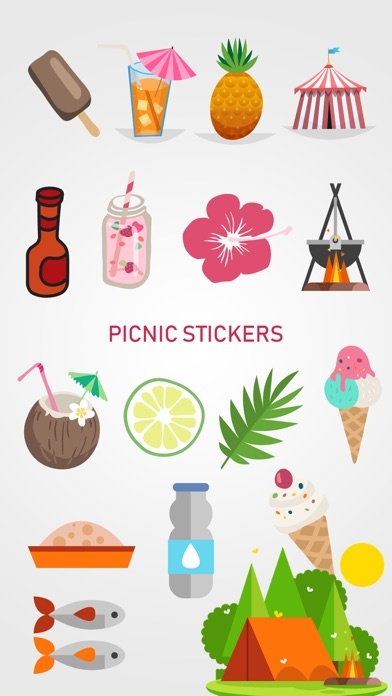 Picnic & Fun Loving Stickers screenshot 2
