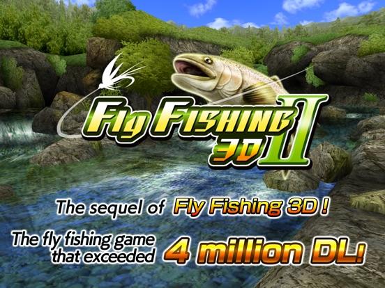 App shopper fly fishing 3d ii games for Fly fishing apps
