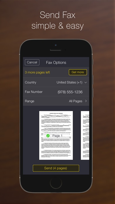 My Scans PRO, pdf scanner app Screenshots