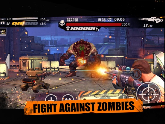 Zombie Attack - Sniper Shooting Скриншоты6