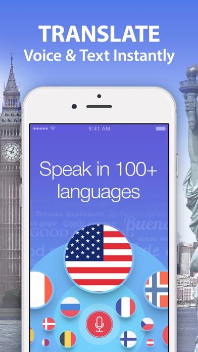 Voice Translator & Dictionary. Screenshots