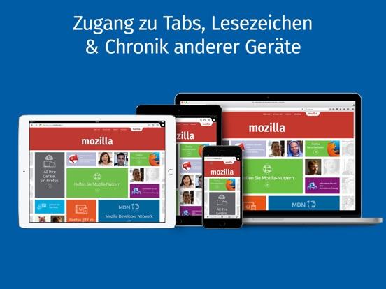 Internet-Browser Firefox Screenshot