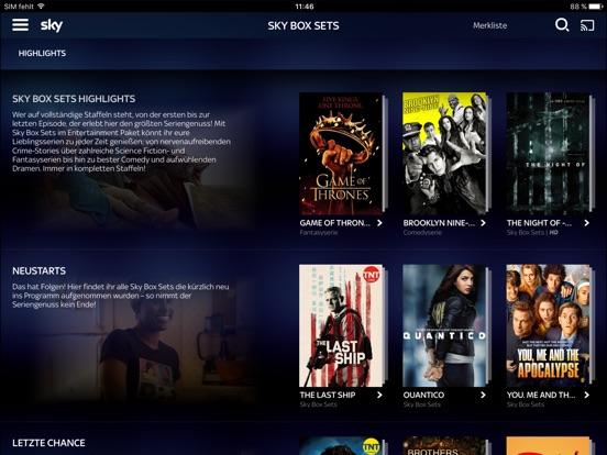 Sky Ticket Screenshot