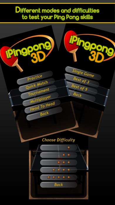 iPingpong 3D screenshot1