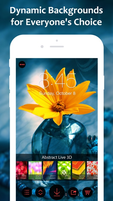 Fancy live wallpapers themes app store iphone 2 voltagebd Gallery