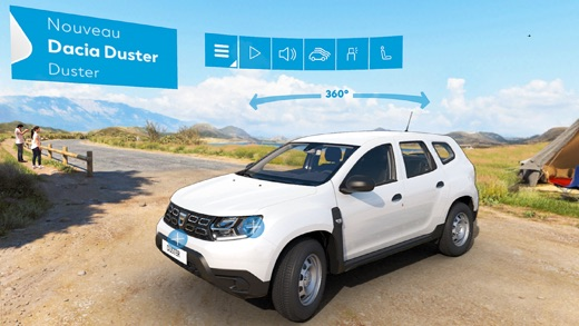 dacia nouveau duster vr dans l app store. Black Bedroom Furniture Sets. Home Design Ideas