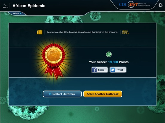 Solve the outbreak on the app store ipad screenshot 2 sciox Images