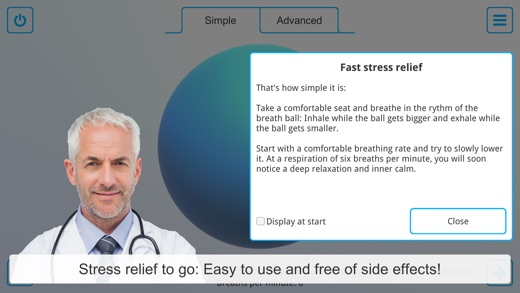 Mac App Helps Users to Relax by Gently Guiding Their Breathing Rhythm Image