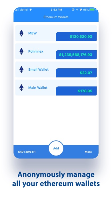 MyEtherWallet Screenshot 1