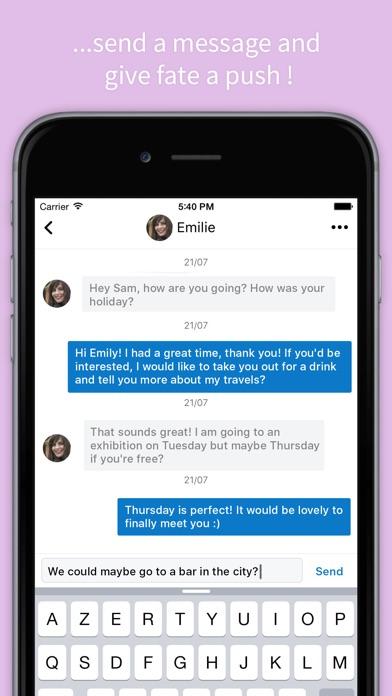 new dating app for blackberry