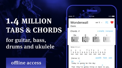 Tabs & Chords - learn and play Screenshot