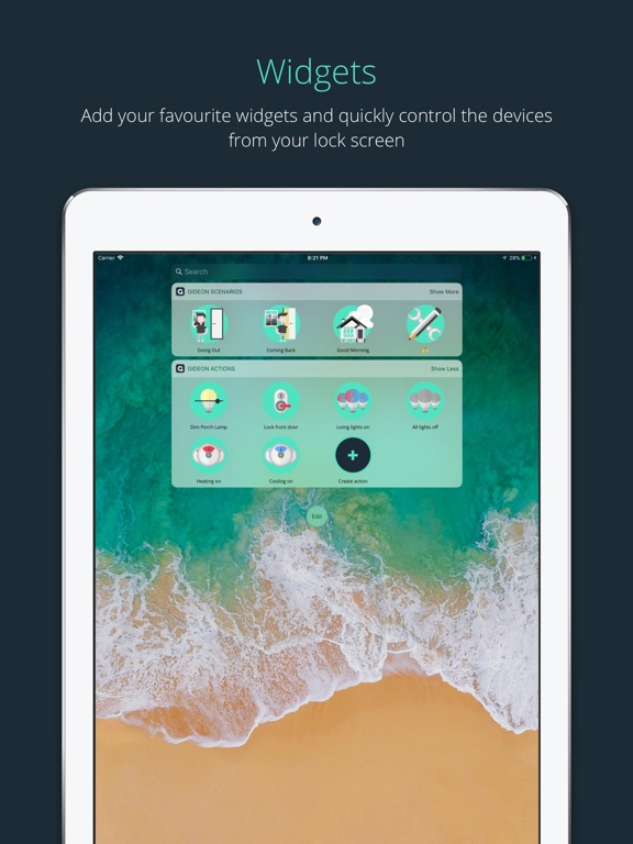 Gideon Smart Home On The App Store