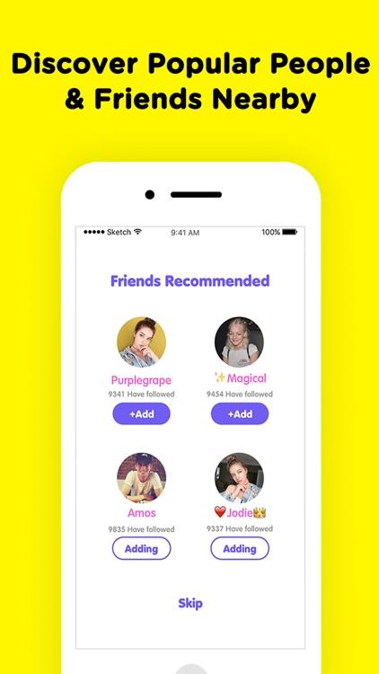 get new friends app