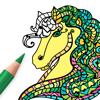Häst Målarbilder för Vuxna