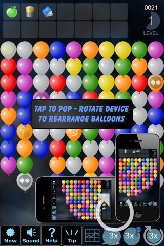 Tap 'n' Pop Classic: Balloon Group Remove screenshot 1