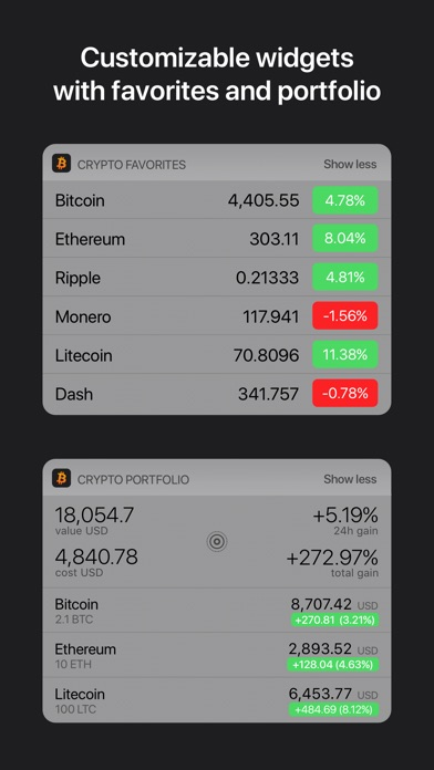 Screenshot Crypto Pro: Bitcoin Ticker