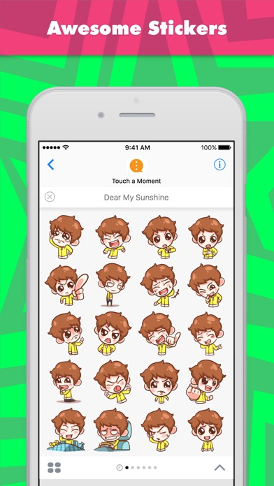 Dear My Sunshine Stickers review screenshots