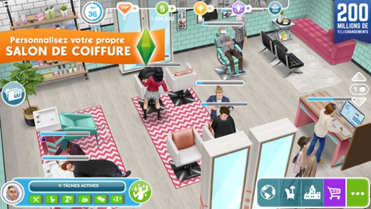 Les sims freeplay dans l app store for Online games similar to sims