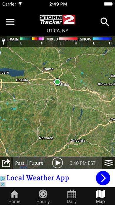 WKTV - StormTracker 2 WeatherScreenshot of 3