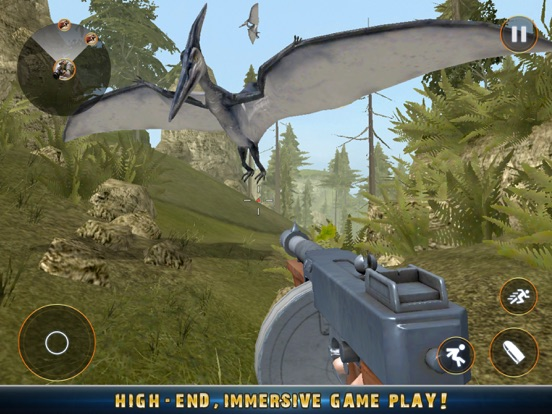 Real Dino Jungle Hunter Pro 3D Скриншоты7