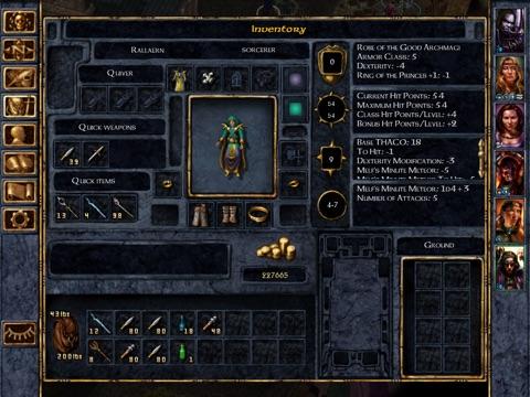 Baldur's Gate Скриншоты9