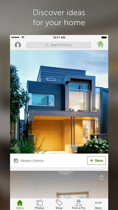 iPhone Screenshot 1. Houzz Interior Design Ideas on the App Store