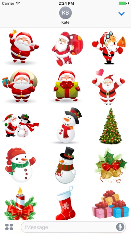 happy merry christmas stickers - Merry Christmas Stickers