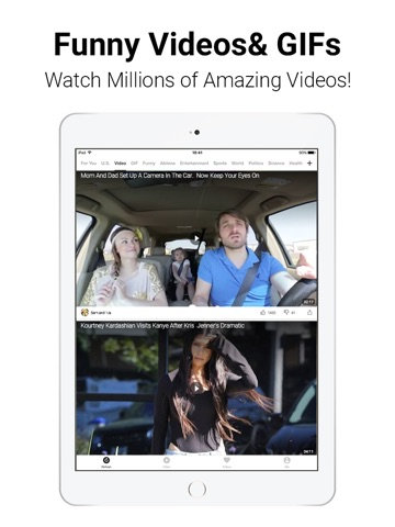 TopBuzz: Viral Videos & News screenshot 1