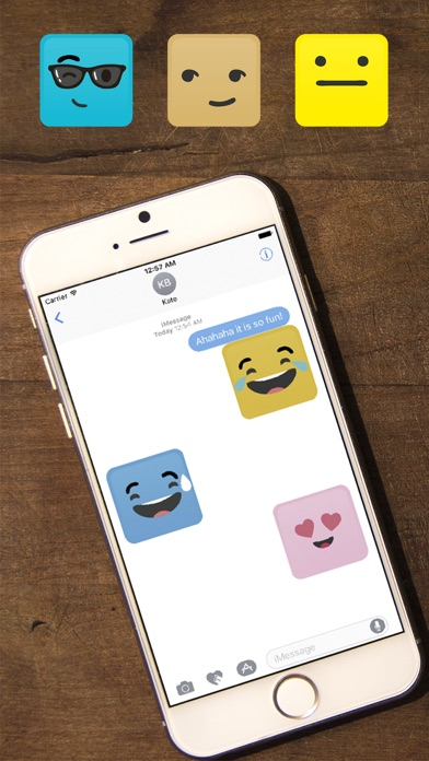 Screenshot of Smile Me Sticker pack App