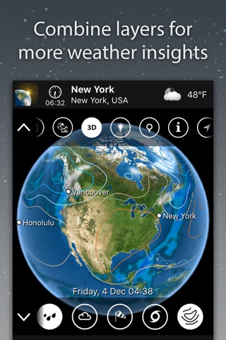 MeteoEarth screenshot 2