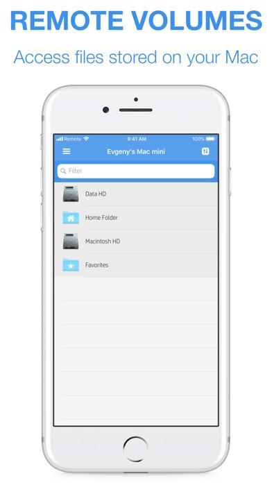 Remote Drive for Mac Screenshot