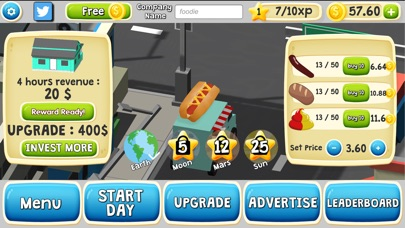 Food Tycoonist screenshot 1